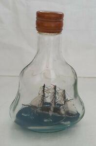 Flaschenschiff Buddelschiff Deko Maritim