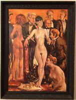 Rodrigo Moynihan CBE RA, Oil Painting, Richard Burton/Elizabeth Taylor/Sally Hay