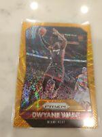 2015-16 Prizm Orange Wave Dwyane Wade #64