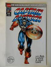 Captain America - Wiedergeburt der Helden Nr. 1 - Marvel - Zustand 1-2