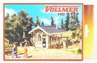 VOLLMER Spur H0 5137 Gartenhaus Pavillon, Bausatz, OVP, top!