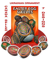 #54 Easter Egg Sleeves Ukrainian  Pysanka,Pysanky,Shrink Wraps