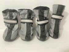 New listing Top Paw Reflective Booties Gray Medium+