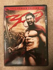 300 The Movie DVD - Full Screen Edition- Great Value!