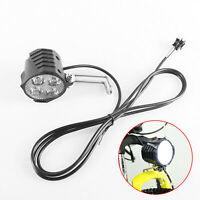 2 in 1 Fahrrad Licht Scheinwerfer Horn Frontleuchte LED Lampe für Elektro E-Bike