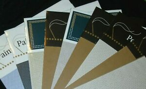 VARIETY of COLORS Mill Hill Perforated Paper 14, 18 Count  2 sheets 9 X 12