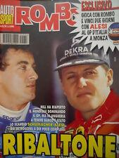 Auto & Sport ROMBO 33-34 1995 Michael Schumacher scambio con Jean Alesi