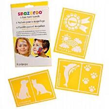 Snazaroo 6 Face Paint Stencils