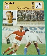 FOOTBALL STADE DE REIMS RAYMOND KOPA REAL MADRID FRANCE SCO ANGERS