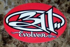 311 Evolver Ltd Ed Discontinued RARE New Sticker +FREE Alt Rock Stickers! Mosaic