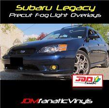 05-07 Subie Legacy GT Fog Light Yellow Overlays TINT JDM Rally Precut Kit LGT
