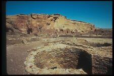 089081 Pueblo Bonito Small Kiva A4 Photo Print