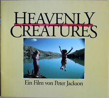 Heavenly Creatures hochwertiges Presseheft Melanie Lynskey Kate Winslet Peirse