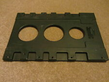 Clansman battery charger mounting base plate. NSN 6130 99 132 2985