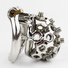Latest Design Small Male Chastity Belt Device Stainless Steel Bird Cage