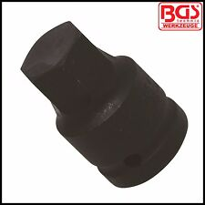 "BGS - 24 mm - Allen Key, Internal Hex Impact Socket - 3/4"" Drive - Pro - 5054-24"