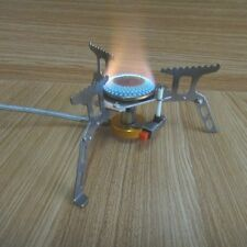 Outdoor Camping Gas Cookout Portable Stove Furnace Split Burner Hiking Picnic