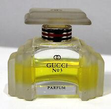 """Gucci - Flacon ancien de collection  """"Gucci n° 3"""""""