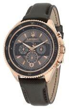 Relojes de pulsera Day-Date de cuero de día y fecha