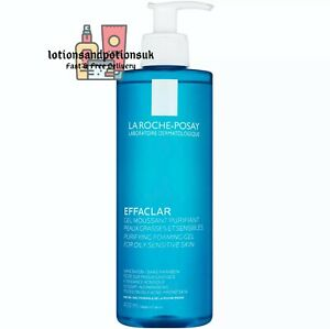 La Roche Posay EFFACLAR PURIFYING FOAMING CLEANSING Gel for Oily Skin 400ML