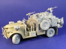 Resicast 1/35 LRDG 30 cwt Heavy Weapon Carrier Late Conversion (Tamiya) 352369