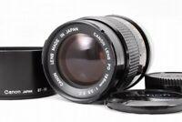 """Exc++""  Canon FD 135mm f/3.5 S.C. MF Lens w/BT-55 Hood  From Japan *68"