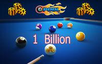 8 Ball Pool || 100% Legit || 1 Billion Coins  + Plus Bonus