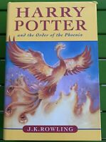 Harry Potter And The Order Of The Phoenix Book Hardcover
