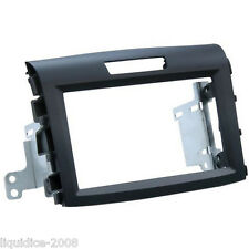CT23HD31 HONDA CR-V 2012 ONWARDS SOFT TOUCH DOUBLE DIN FACIA ADAPTER PANEL