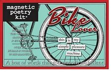 Magnetic Poetry Kit - Bike Lover