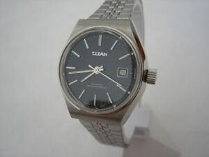 vintage nos titan watch auto swiss date new
