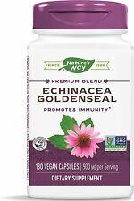 Echinacea Goldenseal, Nature's Way, 180 capsules