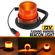 FXC Car Bus Magnetic 10LED Emergency Beacon Flash Strobe Warning Light Amber 40W