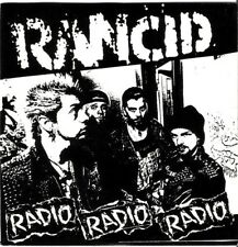 "RANCID ""Radio"" ep orig 1st press 1993 Fat Wreck Chords PUNK"