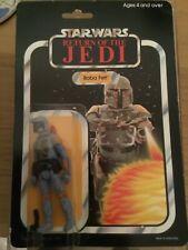 Star Wars vintage moc boba fett Palitoy not AFA UKG Potf kenner