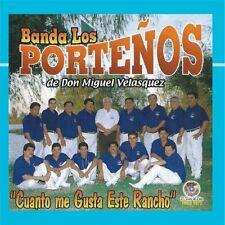 Banda Los Portenos Cuanto Me Gusta este Rancho CD New Nuevo Sealed