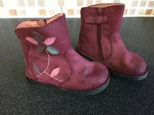 CLARKS Maxi Libby Fst Girls Pink Suede Boot * SALE