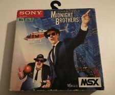Midnight Bothers (Blues Brothers) MSX/MSX2 en boite Jap