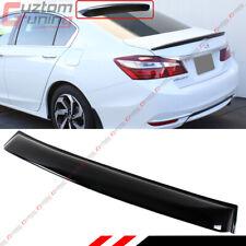 For 2013-2017 9th Gen Honda Accord Sedan JDM Rear Window Roof Visor Spoiler Wing
