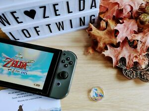 Zelda & Loftwing - Legend of Zelda Skyward Sword HD Amiibo Coin NFC Switch