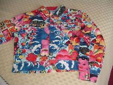 Oilily Colourful Grafics / Motif denim Style Jacket Festival/Boho 140