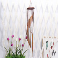 18 Tubes Wind Chimes Metal Wind Bells Nordic Ornament Garden Patio Wall Hanging-