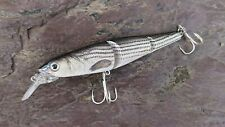 Bass Jointed Minnow 115mm 17g 0.5-1.5m Pike Fishing Lure #4 BBK Hooks Aggressive