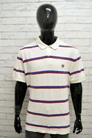 Polo Manica Corta Uomo Taglia XL Maglia Maglietta Cotone Bianco Shirt Man CHAPS
