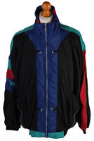 Vintage Urban 70's Tracksuit Top Casual Street Style Sports Suit XL Multi SW1666