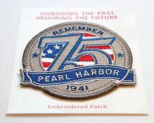 Pearl Harbor 75th Anniversary Souvenir Patch USS Arizona National Memorial 2016