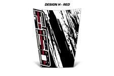Ford F150 Truck Hood Wrap Off Road Graphic Sticker Decal 2015-2017 SUBDUED RED