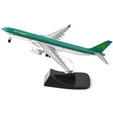 14CM Plastic Irish Airlines AerLingus Airbus A330-300 Aircraft Model Toy Gift