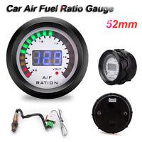 "2"" 52mm LED Digital Car Air Fuel Ratio Gauge W/ Narrowband O2 Oxygen Sensor 12V"