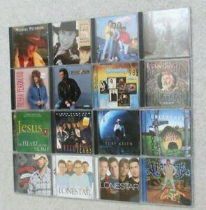 Lot of 16 Country Music Western CDs Lonestar Toby Keith Kenny Rogers Oak Ridge